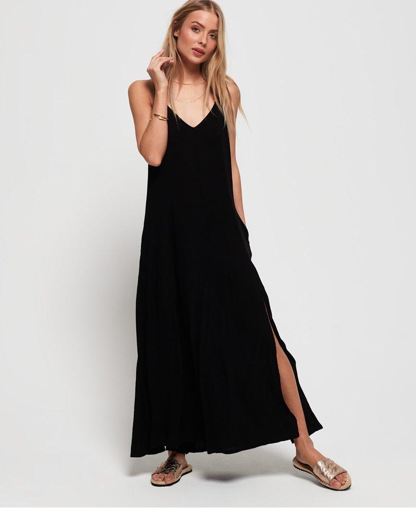 Superdry Carissa Macrame Maxi Dress thumbnail 1
