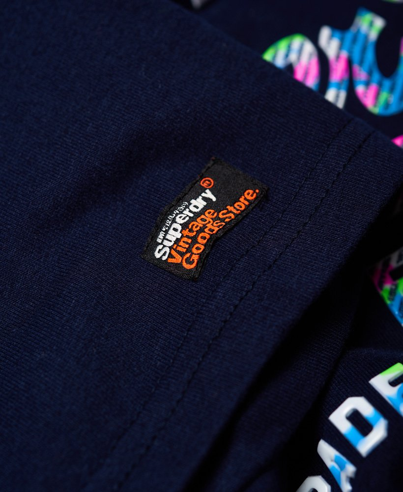 Superdry Flerfarget Vintage Logo T skjorte Herre T skjorter