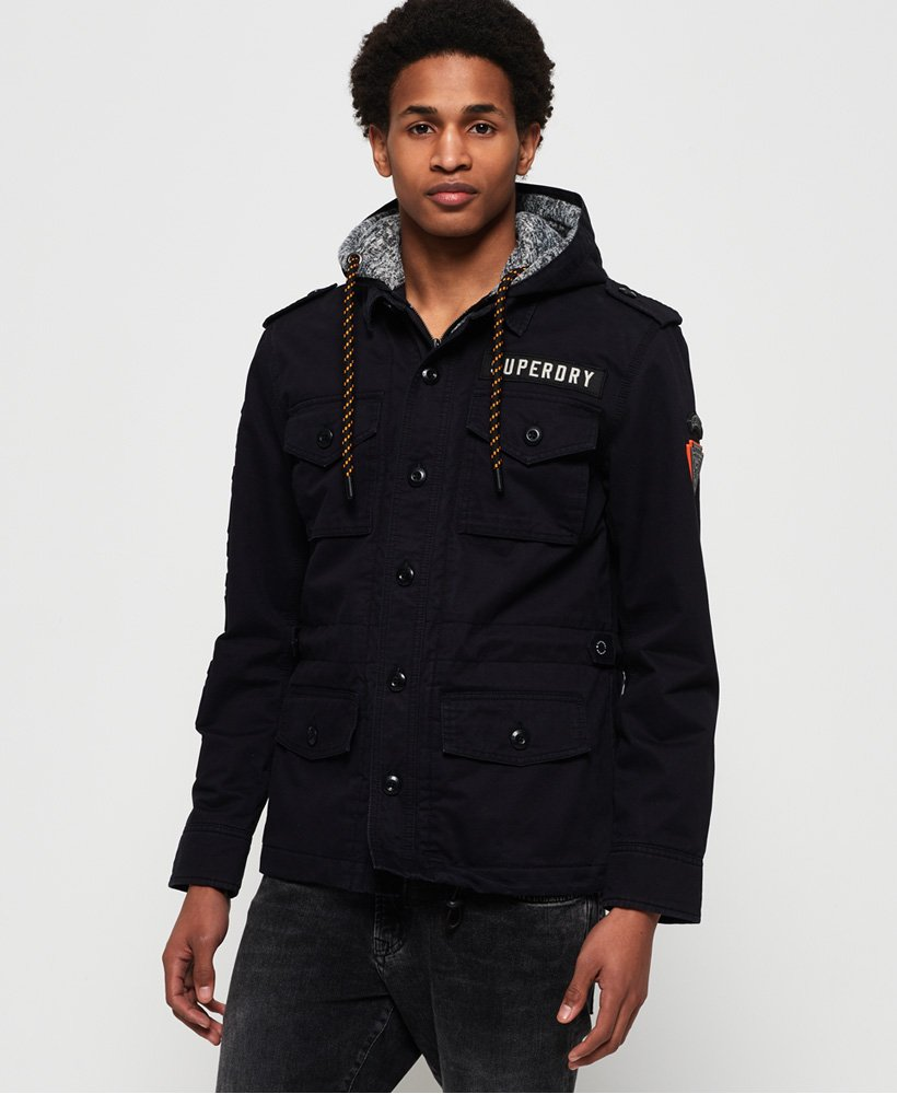 Superdry Military Storm Hooded Jacket thumbnail 1