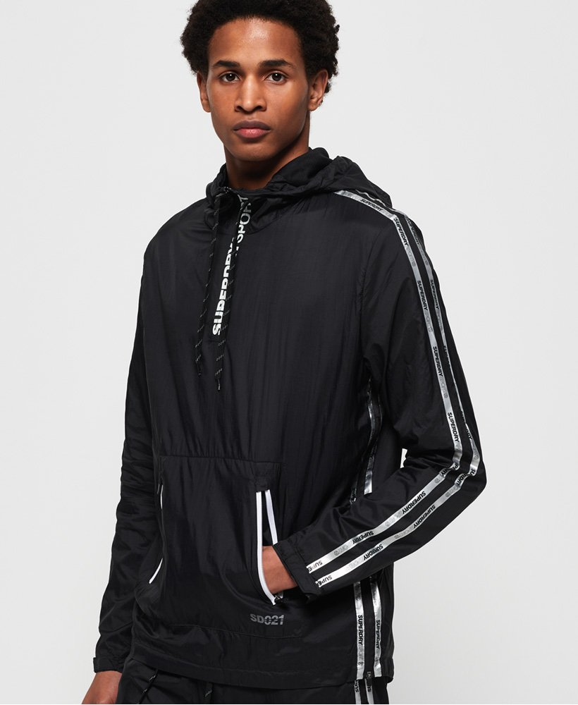 Superdry Active Training Overhead Shell Jacket thumbnail 1
