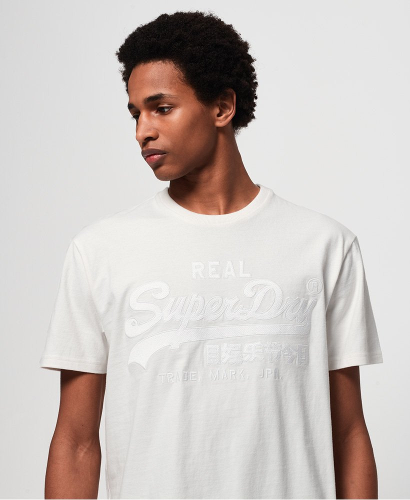 Superdry Vintage Logo Box Fit Appliqué T-shirt  thumbnail 1