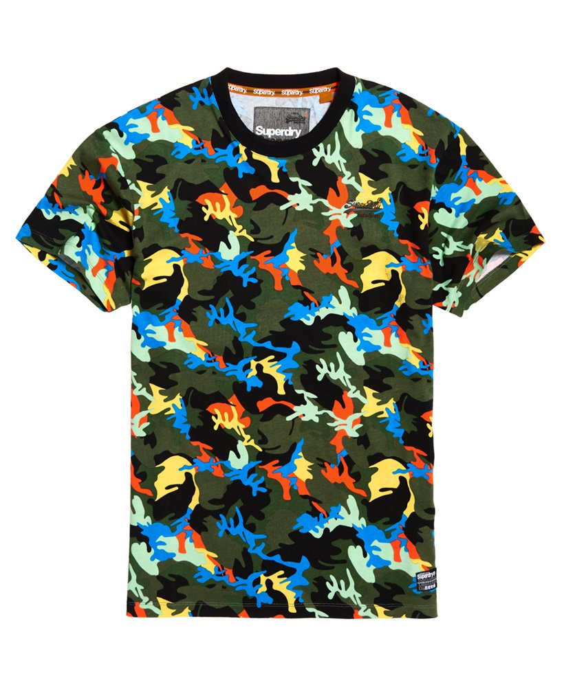Superdry Orange Label Urban Printed Box T-Shirt