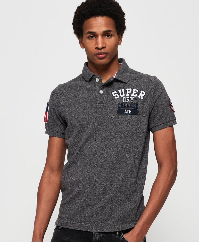 Superdry Classic Superstate Pique Polo Shirt thumbnail 1