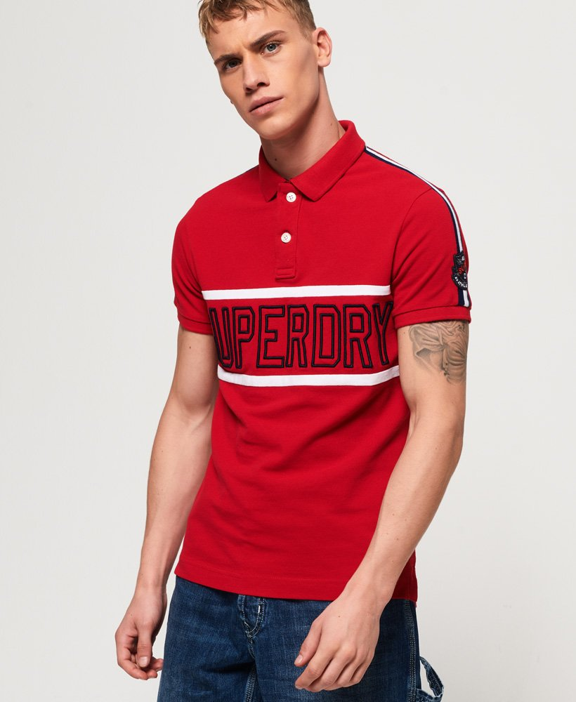 Superdry Retro Sports Applique Polo Shirt