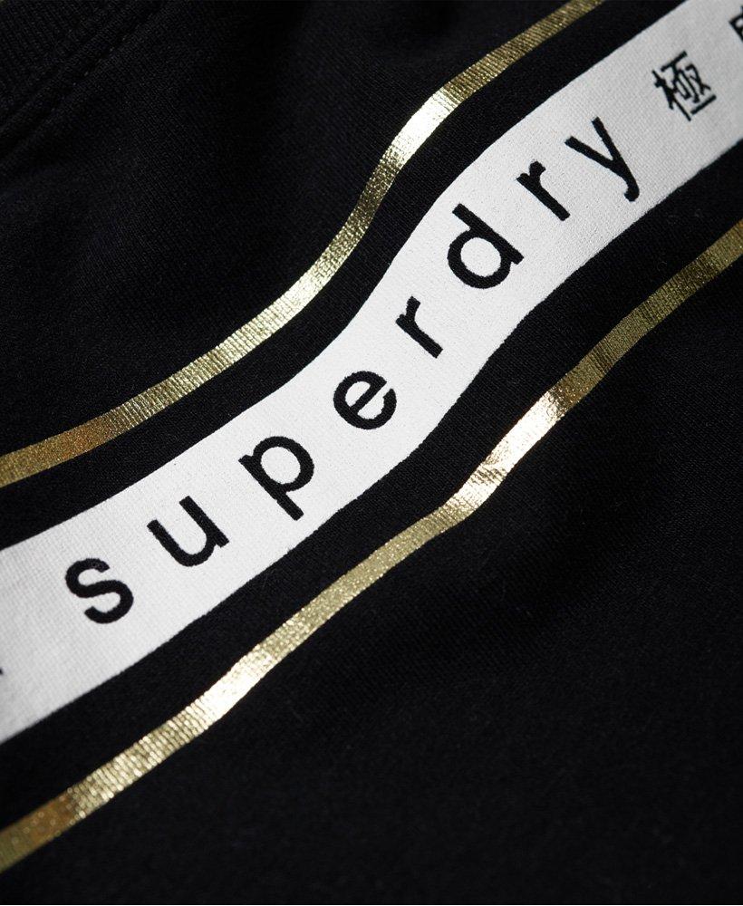 56374792 Womens - Minimal Logo Tape Oversized Portland T-Shirt in Black ...