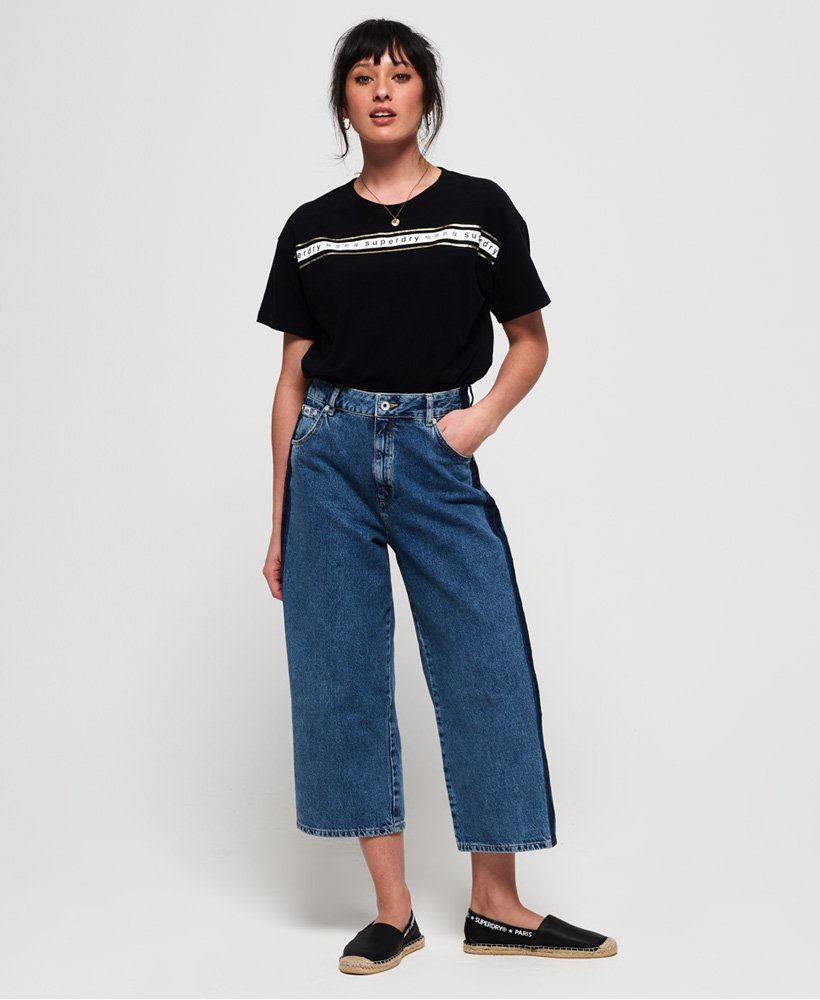 Superdry Camiseta con cinta y logo minimalista Portland