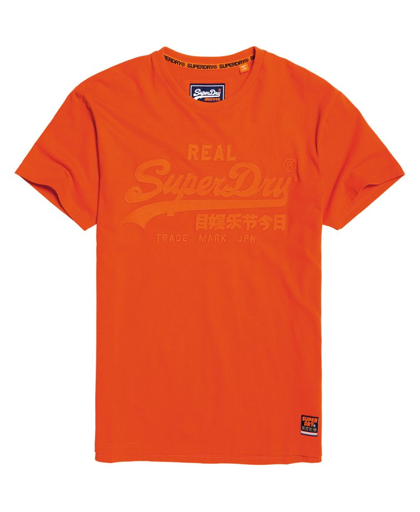 Superdry Vintage Logo Box Fit Applique-T-skjorte