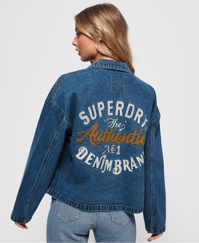 Superdry Trucker Jacket thumbnail 1