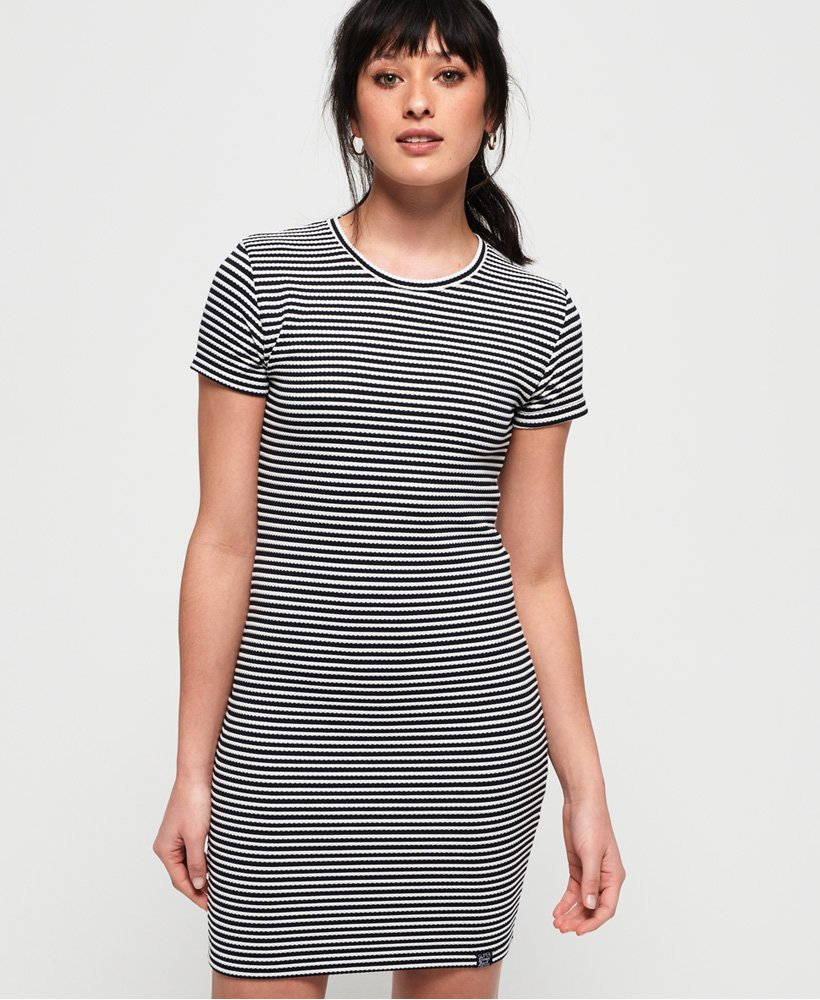Superdry Evie Textured Tee Dress thumbnail 1