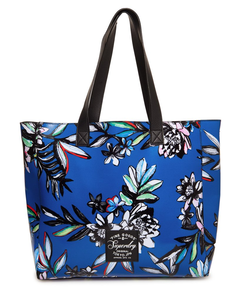 Superdry Elaina Printed Tote Bag