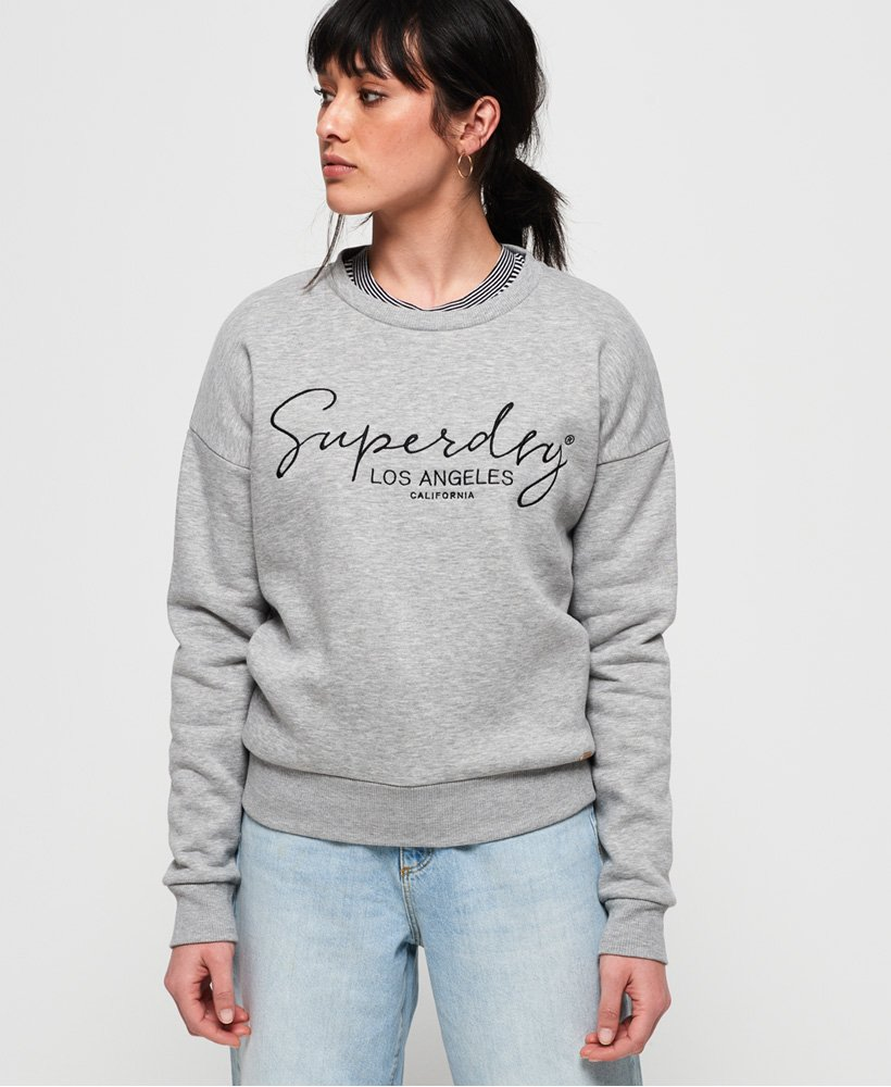 Superdry Alice Crew Sweatshirt thumbnail 1