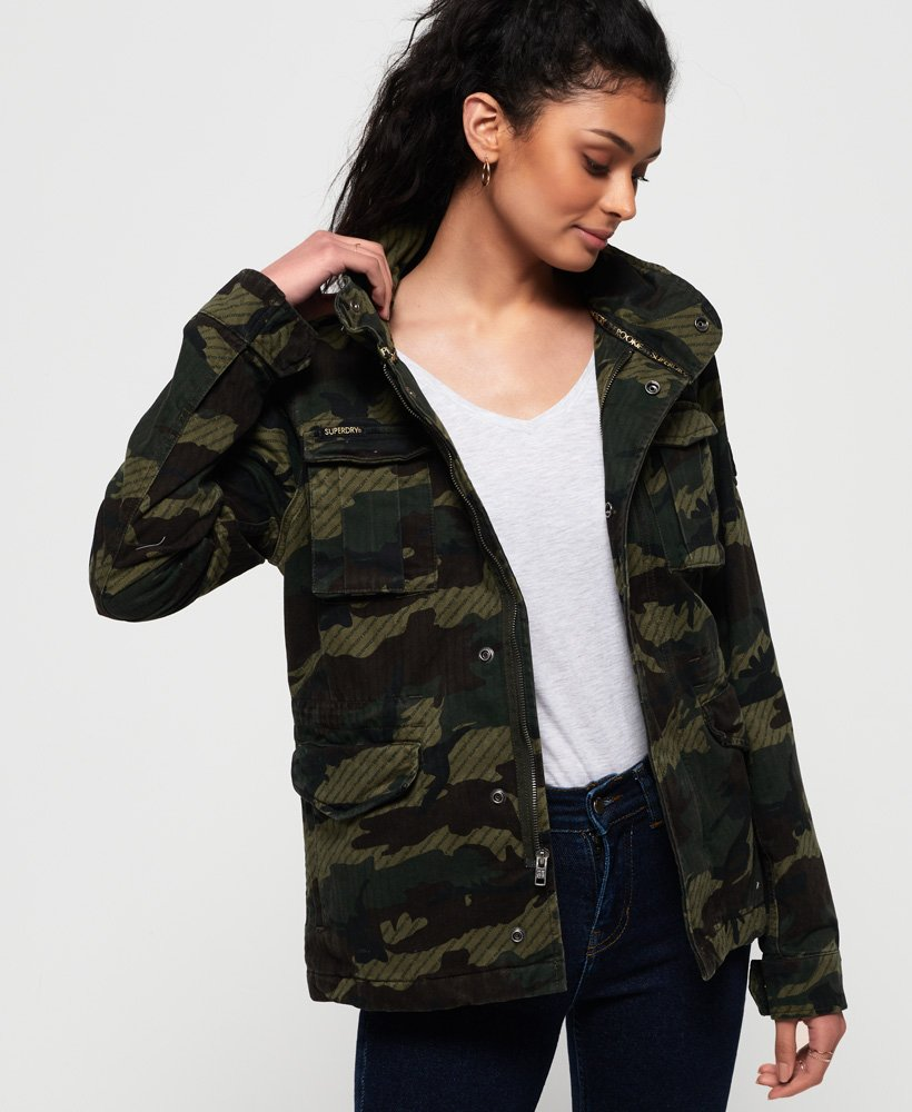 Superdry Jade Rookie Pocket Jacket thumbnail 1