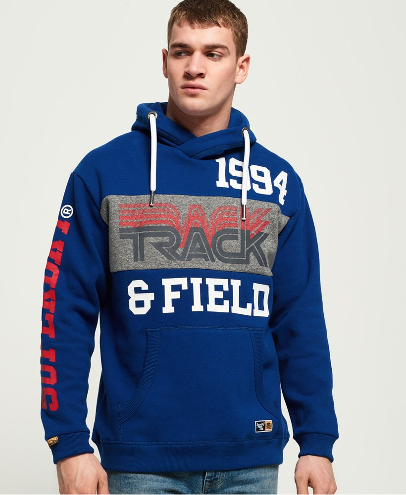 Superdry Triple Drop Track Oversized Hoodie thumbnail 1