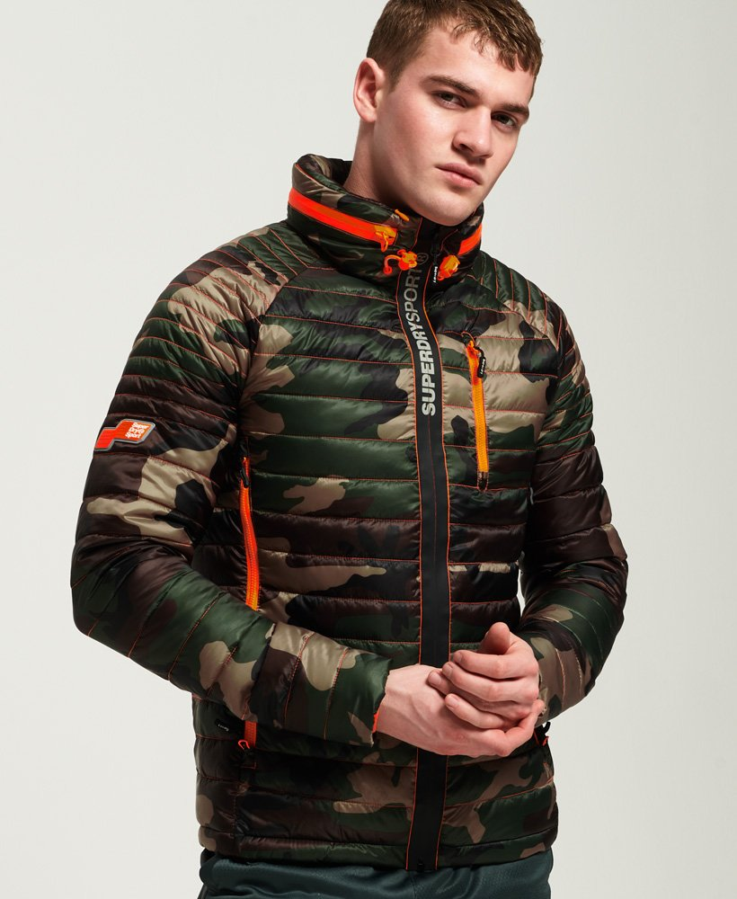 Superdry Power Pop Camo Jacket  thumbnail 1