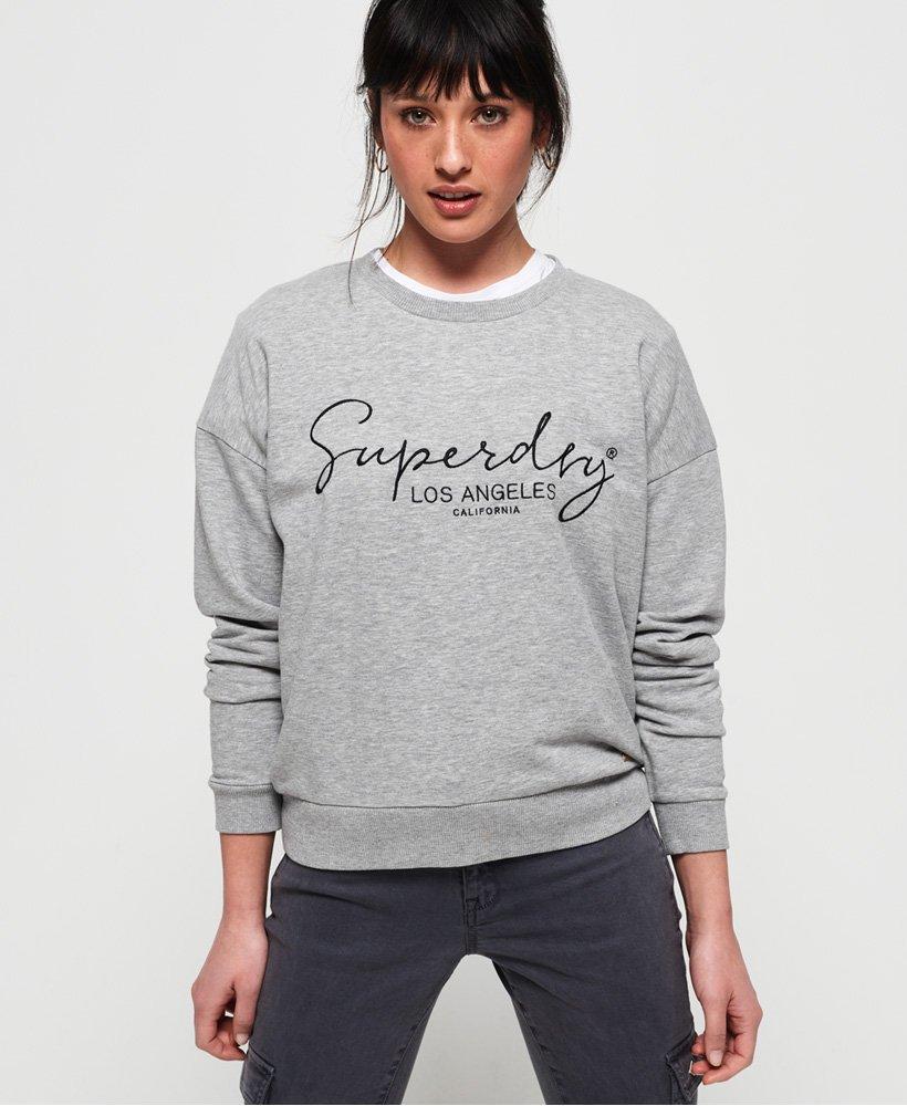 Superdry Alice Lite Crew Sweatshirt  thumbnail 1