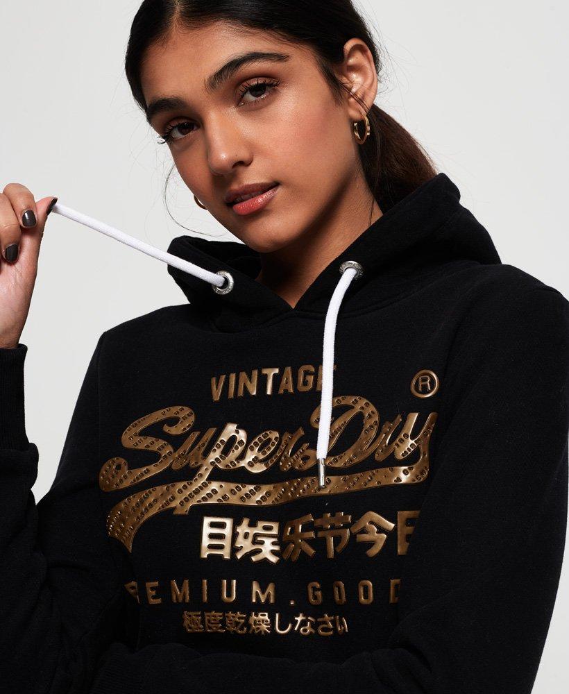 Superdry Sudadera con capucha Premium Goods Luxury Infill