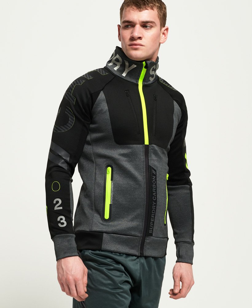 Superdry Carbon Track Top