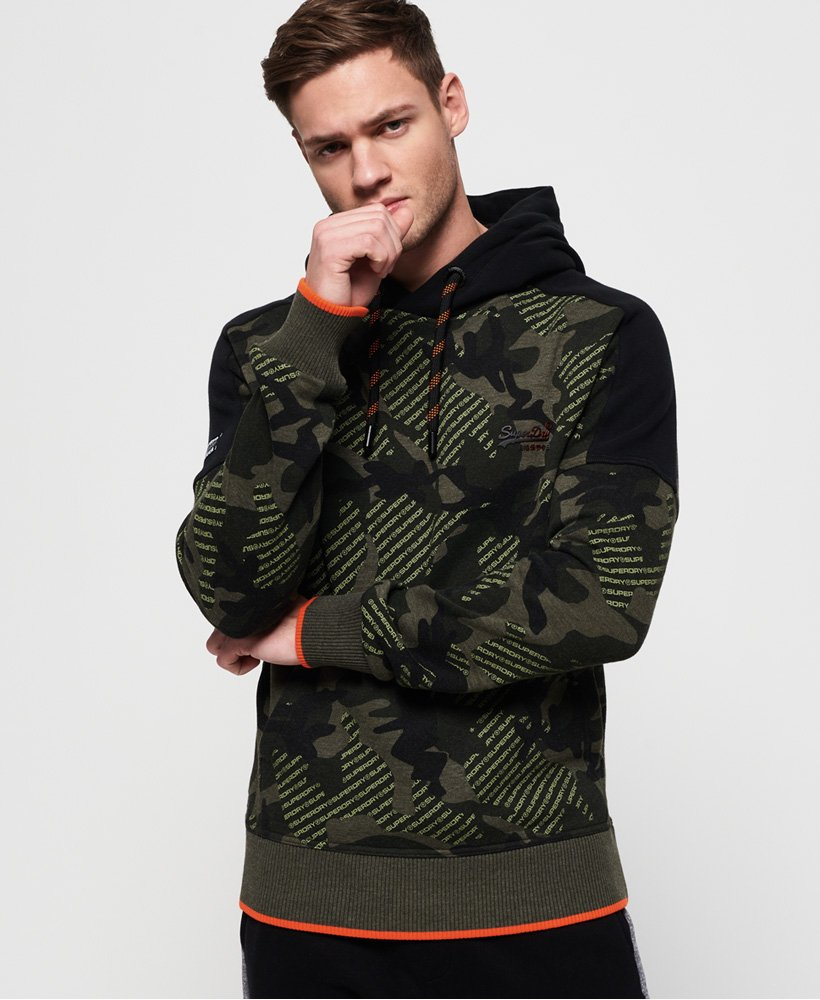 Superdry Orange Label Urban Hoodie