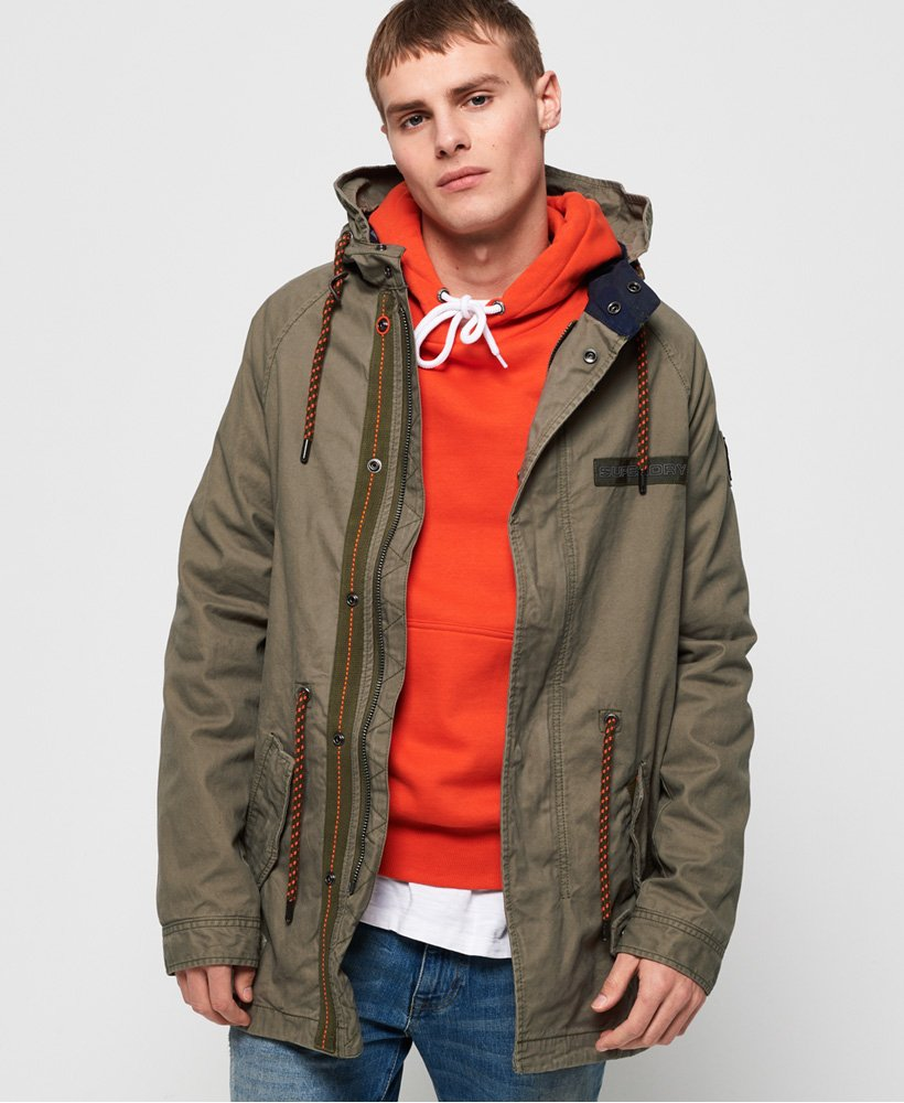 Superdry Aviator Rookie Parka  thumbnail 1