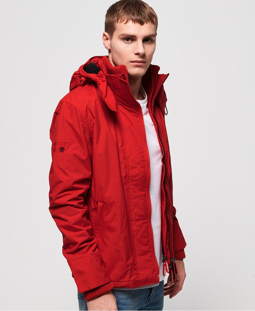 Superdry CNY Hooded Arctic Pop Zip SD-Windcheater Jacket thumbnail 1
