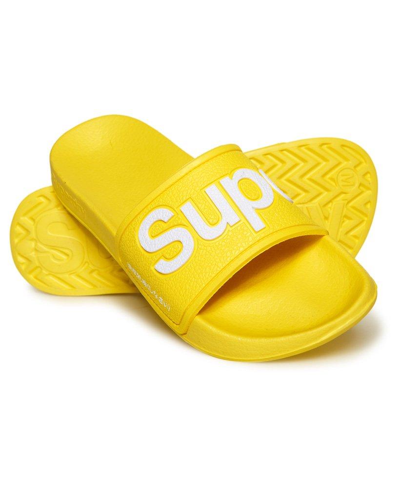Superdry Chanclas de piscina de goma EVA