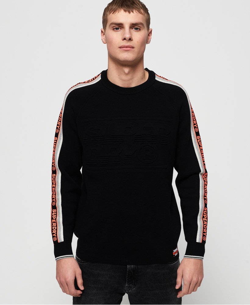 Superdry Maglione girocollo Grade Embossed Superdry