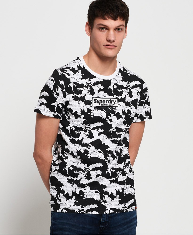 Superdry International Monochrome T-Shirt thumbnail 1