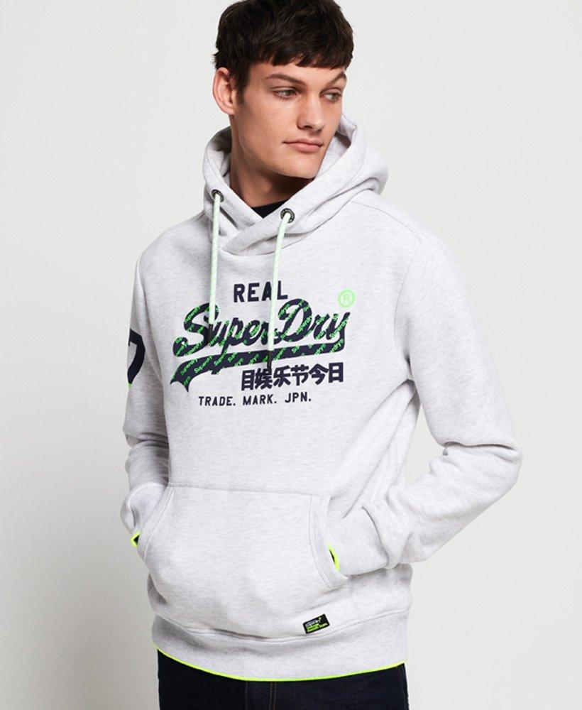 Superdry Felpa con cappuccio con logo vintage Neon Tip