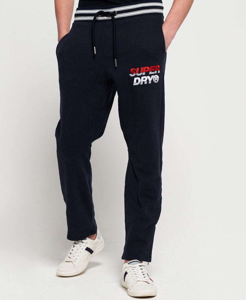 Superdry Pantalon de survêtement à logo appliqué Smart
