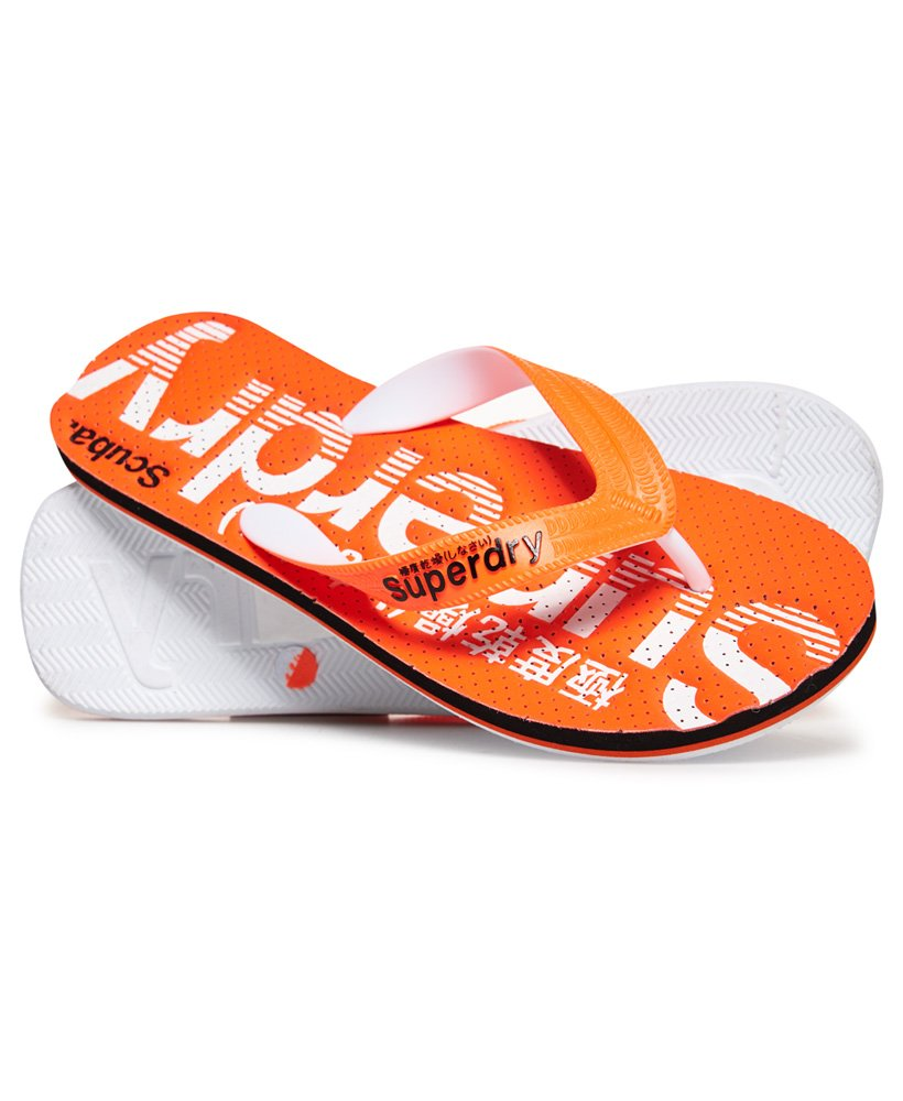 Superdry Scuba Perforated Flip Flops thumbnail 1