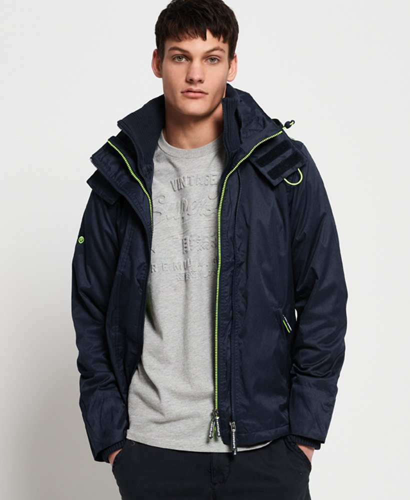 Superdry Hooded Arctic Pop Zip SD-Windcheater Jacket thumbnail 1