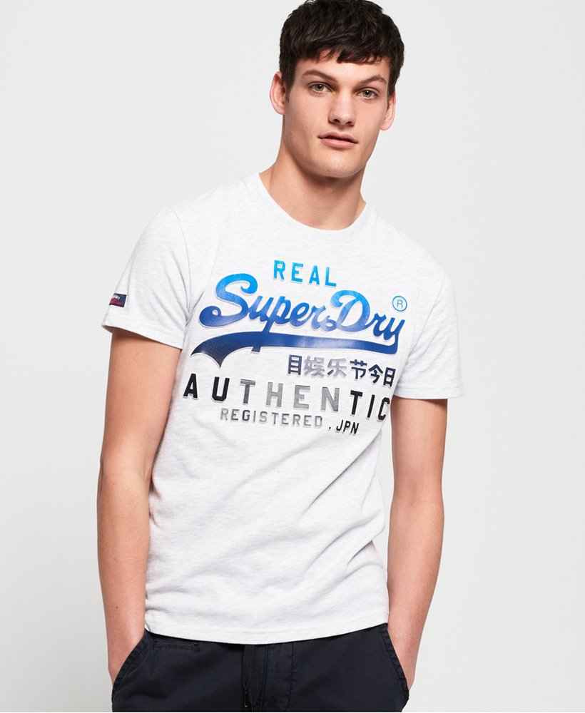 Superdry Vintage Logo Authentic Fade T-Shirt thumbnail 1