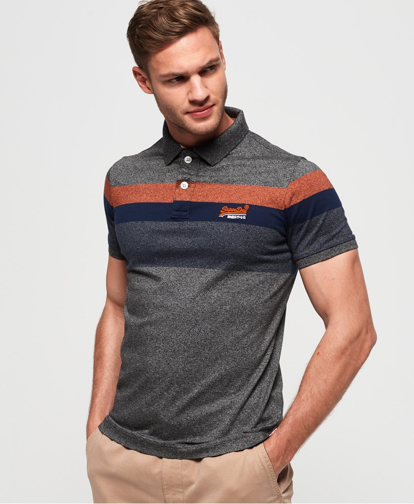 Superdry Miami Feeder Polo Shirt thumbnail 1
