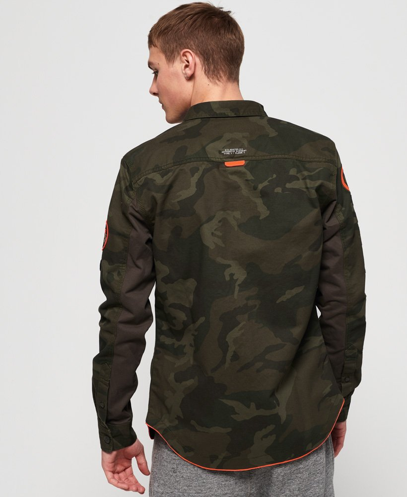 Superdry Chemise Military Storm Homme Sale View all