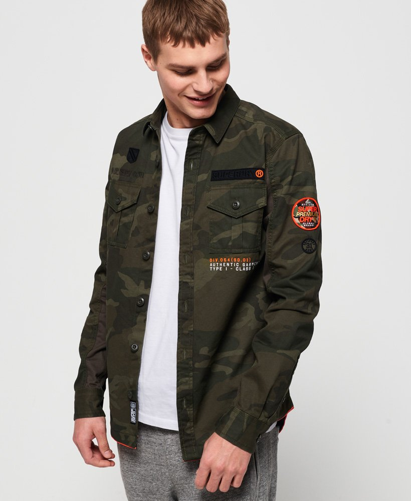 Superdry Military Storm Shirt thumbnail 1