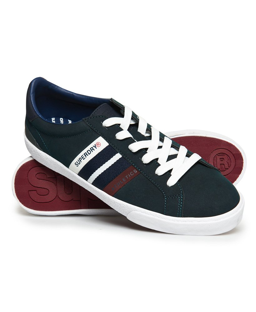 Superdry Vintage Court Trainers thumbnail 1