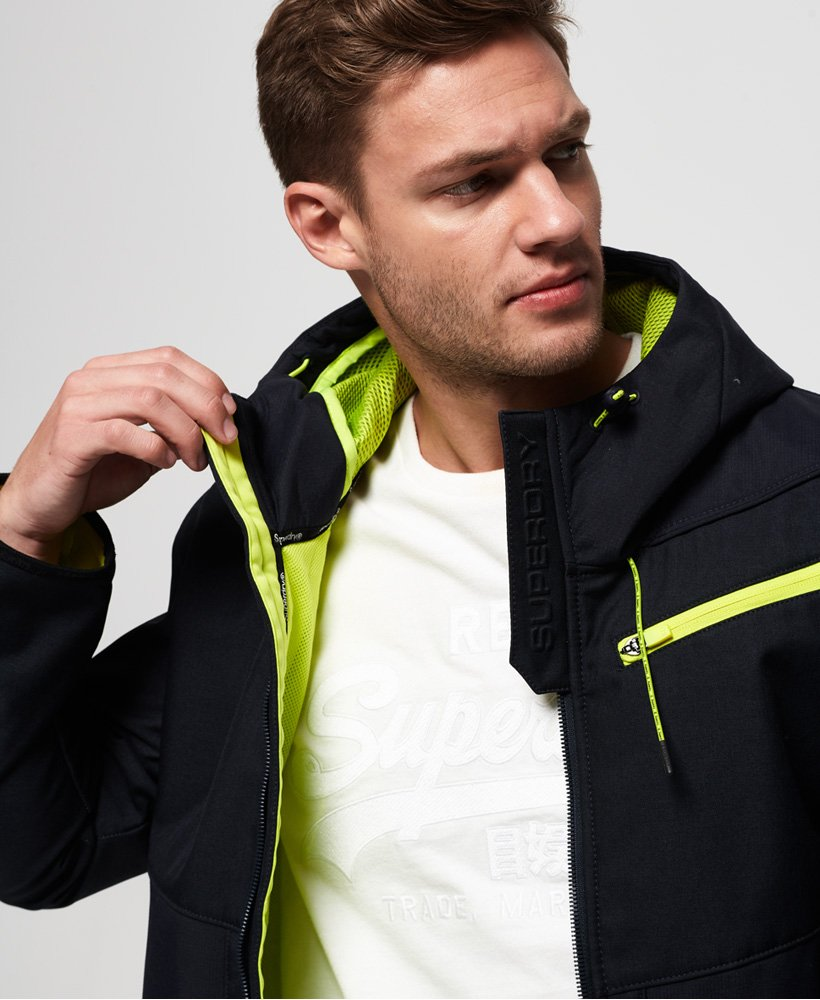 Superdry Hybrid Hooded SD-Windtrekker Jacket thumbnail 1