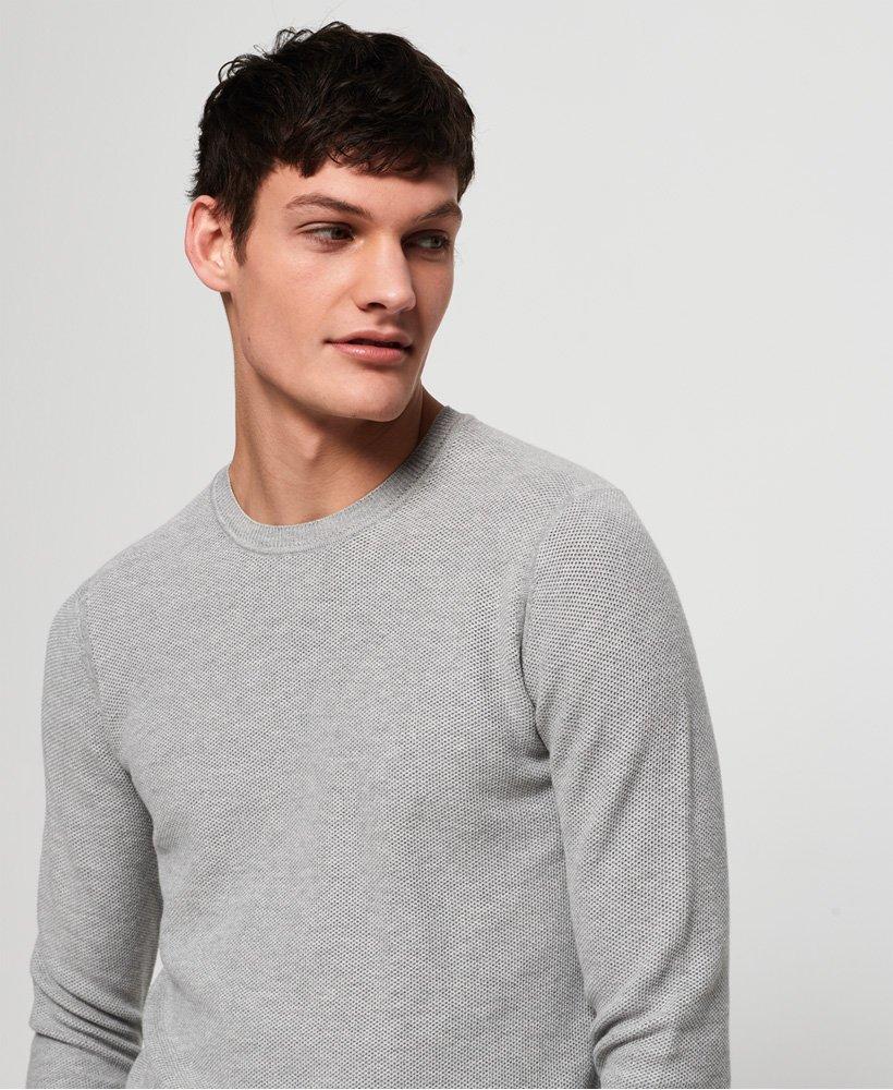 Superdry Supima® Cotton Crew Jumper Men's Sweaters