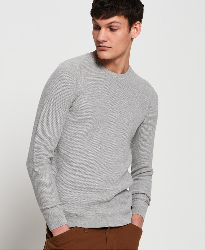 Superdry Supima Cotton Crew Jumper