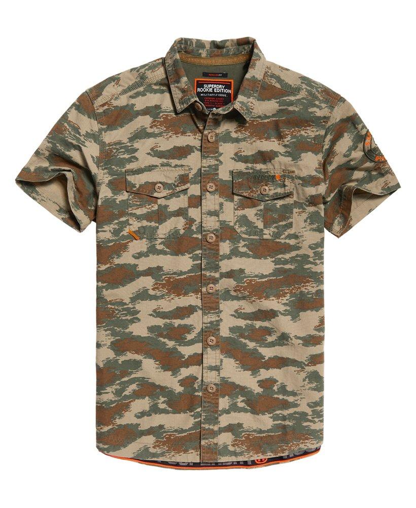 Superdry Rookie Parachute Lite kortermet skjorte Herre