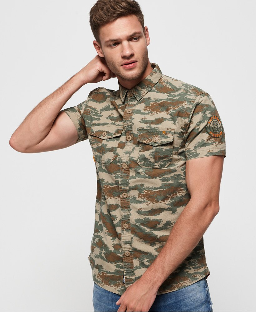 Superdry Short Sleeve Rookie Parachute Lite Shirt