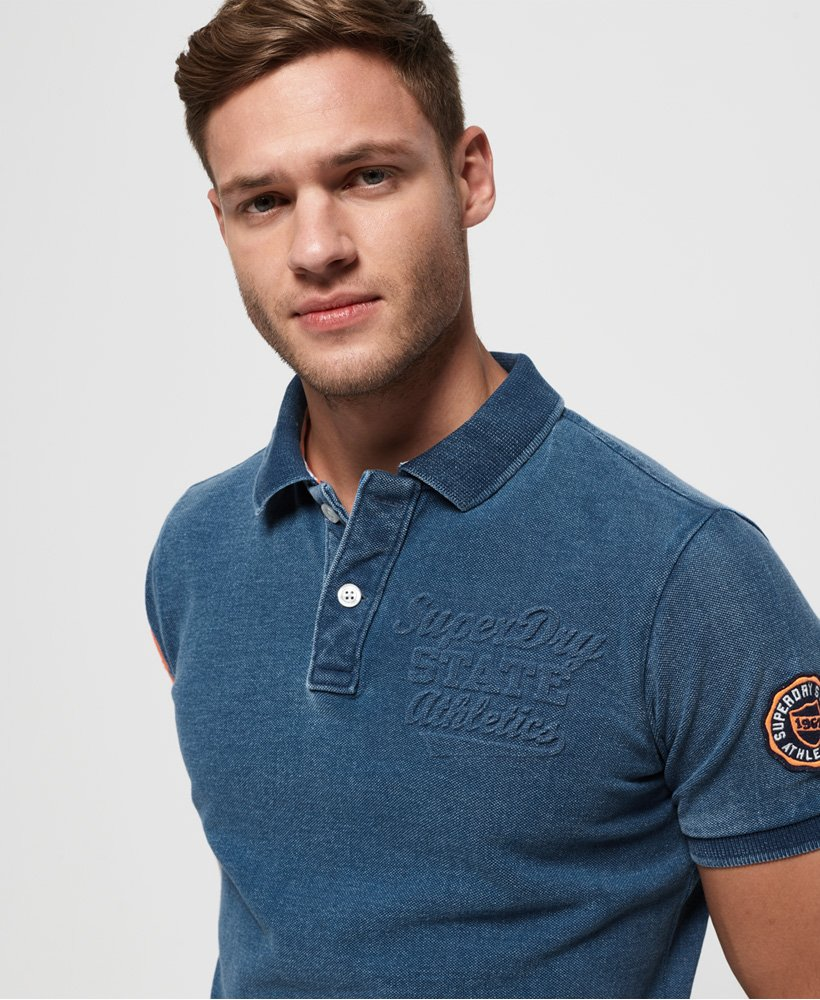 Superdry Classic Superstate piqué poloshirt thumbnail 1
