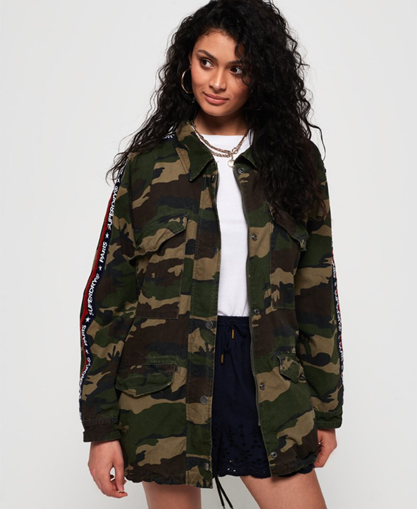 Superdry Lilith Oversized Rookie Shacket  thumbnail 1