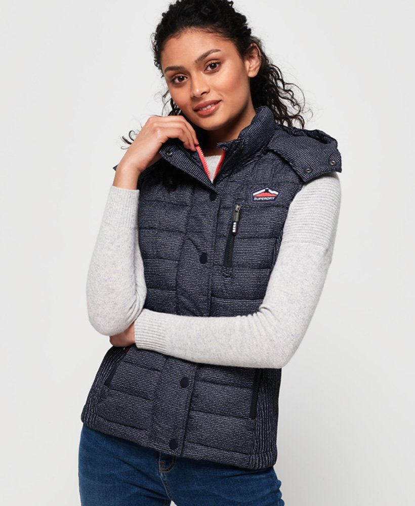 Superdry Fuji Slim Double Zip Vest thumbnail 1