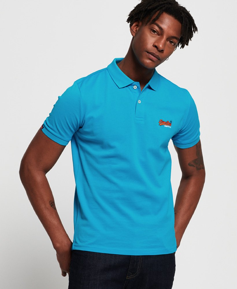 Superdry Leichtes Mercerised City Polohemd thumbnail 1