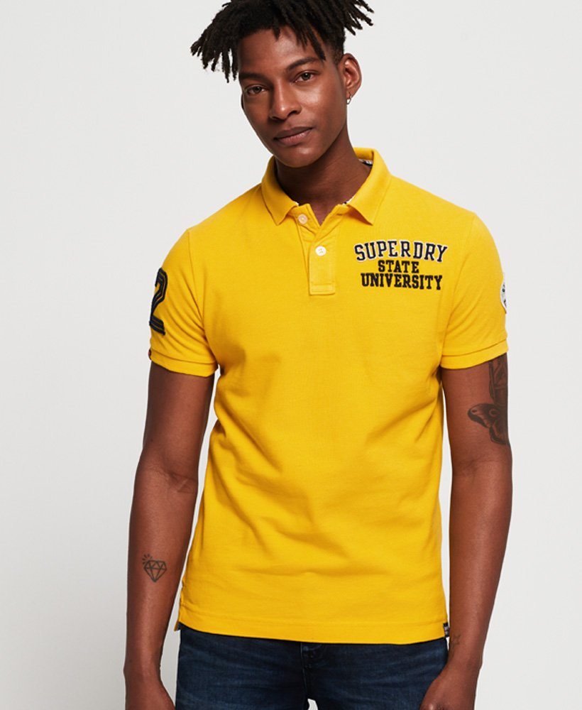 Superdry Polo en piqué Classic Superstate thumbnail 1
