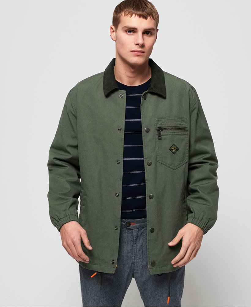 Superdry Supersonic Canvas Coach Jacket thumbnail 1