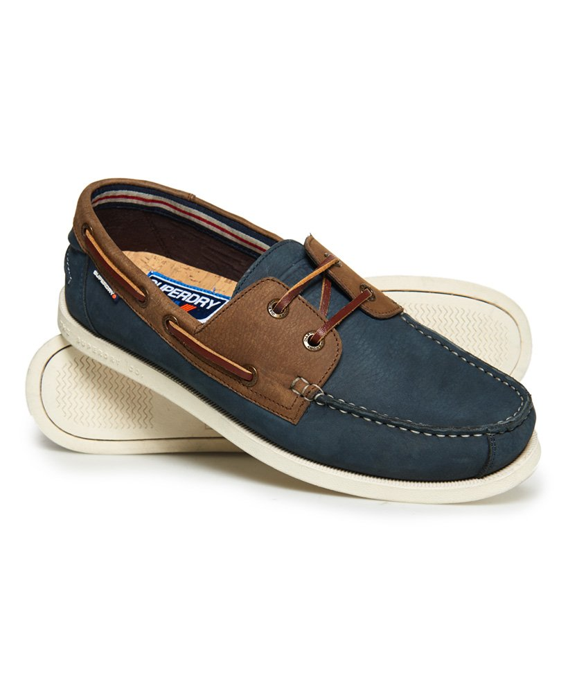 Superdry Leather Deck Shoes  thumbnail 1