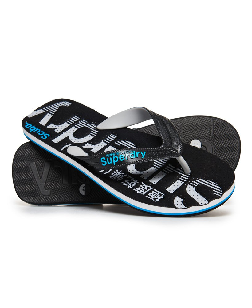 Superdry Scuba Flipflops mit Perforationen thumbnail 1