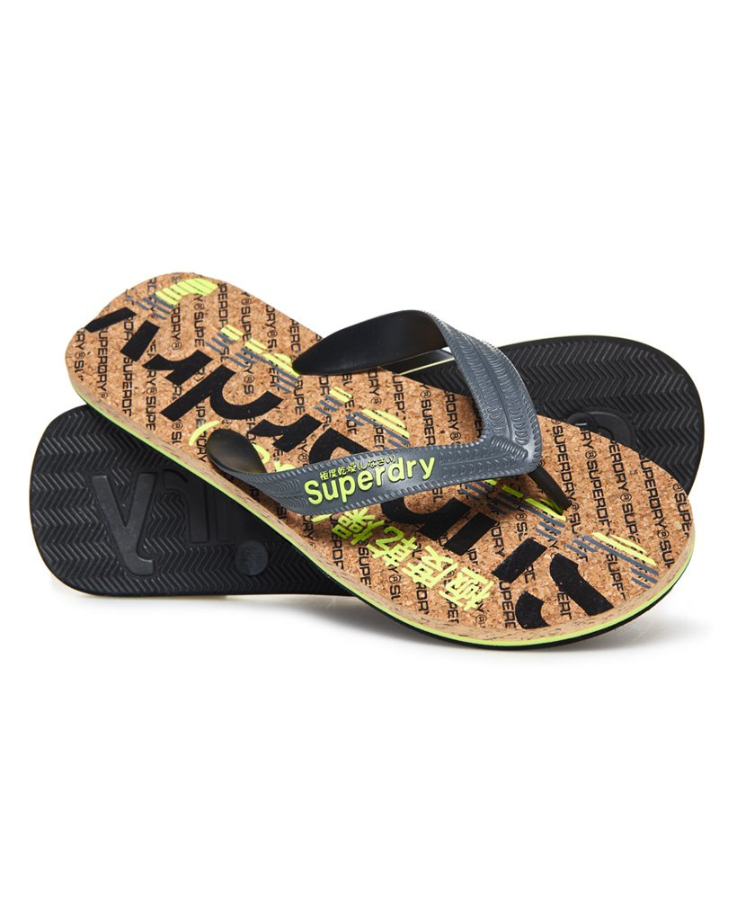 Superdry Cork Colour Pop Flip Flops thumbnail 1